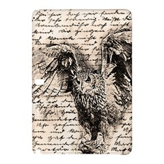 Vintage Owl Samsung Galaxy Tab Pro 10 1 Hardshell Case by Valentinaart