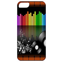 Music Pattern Apple Iphone 5 Classic Hardshell Case
