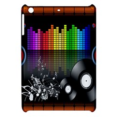 Music Pattern Apple Ipad Mini Hardshell Case by Simbadda