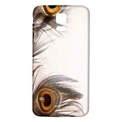 Peacock Feathery Background Samsung Galaxy S5 Back Case (white)