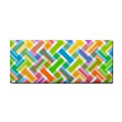 Abstract Pattern Colorful Wallpaper Cosmetic Storage Cases by Simbadda