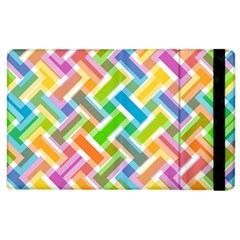 Abstract Pattern Colorful Wallpaper Apple Ipad 3/4 Flip Case by Simbadda