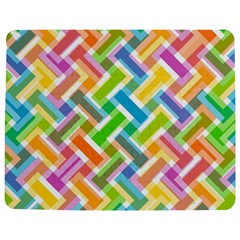 Abstract Pattern Colorful Wallpaper Jigsaw Puzzle Photo Stand (rectangular) by Simbadda