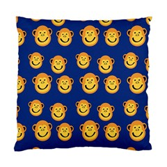 Monkeys Seamless Pattern Standard Cushion Case (two Sides) by Simbadda