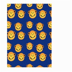 Monkeys Seamless Pattern Large Garden Flag (two Sides)
