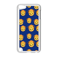 Monkeys Seamless Pattern Apple Ipod Touch 5 Case (white) by Simbadda