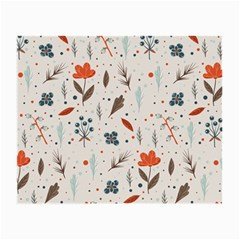 Seamless Floral Patterns  Small Glasses Cloth by TastefulDesigns