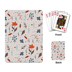 Seamless Floral Patterns  Playing Card by TastefulDesigns