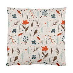 Seamless Floral Patterns  Standard Cushion Case (one Side) by TastefulDesigns