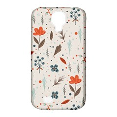 Seamless Floral Patterns  Samsung Galaxy S4 Classic Hardshell Case (pc+silicone) by TastefulDesigns