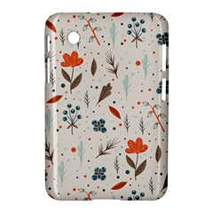 Seamless Floral Patterns  Samsung Galaxy Tab 2 (7 ) P3100 Hardshell Case  by TastefulDesigns