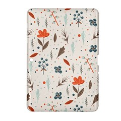 Seamless Floral Patterns  Samsung Galaxy Tab 2 (10 1 ) P5100 Hardshell Case  by TastefulDesigns