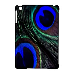 Peacock Feather Apple Ipad Mini Hardshell Case (compatible With Smart Cover) by Simbadda