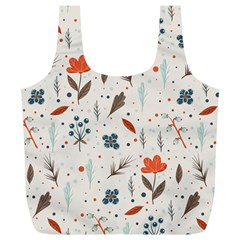 Seamless Floral Patterns  Full Print Recycle Bags (l)  by TastefulDesigns