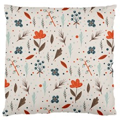Seamless Floral Patterns  Standard Flano Cushion Case (one Side) by TastefulDesigns