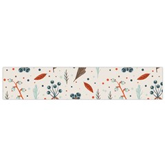 Seamless Floral Patterns  Flano Scarf (small) by TastefulDesigns