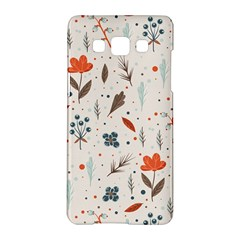 Seamless Floral Patterns  Samsung Galaxy A5 Hardshell Case  by TastefulDesigns