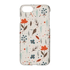 Seamless Floral Patterns  Apple Iphone 7 Hardshell Case by TastefulDesigns