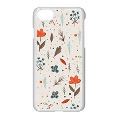 Seamless Floral Patterns  Apple Iphone 7 Seamless Case (white) by TastefulDesigns