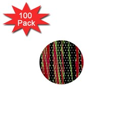 Alien Animal Skin Pattern 1  Mini Buttons (100 Pack)  by Simbadda