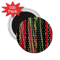 Alien Animal Skin Pattern 2 25  Magnets (100 Pack)