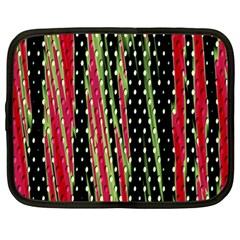 Alien Animal Skin Pattern Netbook Case (large) by Simbadda