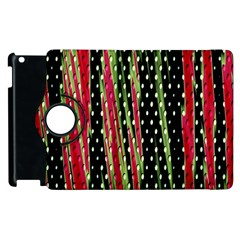 Alien Animal Skin Pattern Apple Ipad 2 Flip 360 Case by Simbadda