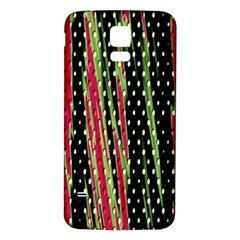 Alien Animal Skin Pattern Samsung Galaxy S5 Back Case (white) by Simbadda