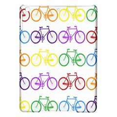 Rainbow Colors Bright Colorful Bicycles Wallpaper Background Ipad Air Hardshell Cases by Simbadda