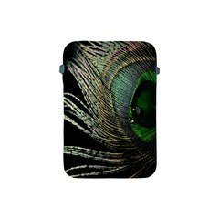 Feather Peacock Drops Green Apple Ipad Mini Protective Soft Cases