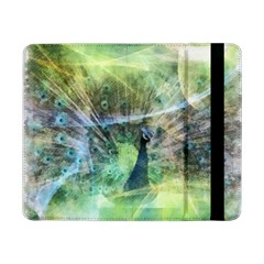 Digitally Painted Abstract Style Watercolour Painting Of A Peacock Samsung Galaxy Tab Pro 8 4  Flip Case by Simbadda