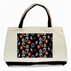 Cute Birds Pattern Basic Tote Bag by Simbadda