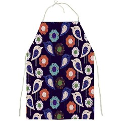 Cute Birds Pattern Full Print Aprons by Simbadda