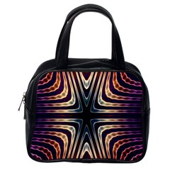 Colorful Seamless Vibrant Pattern Classic Handbags (one Side) by Simbadda