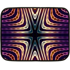 Colorful Seamless Vibrant Pattern Fleece Blanket (mini) by Simbadda