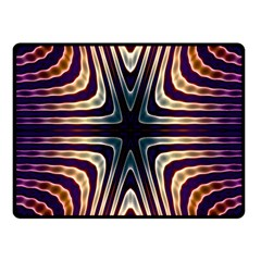 Colorful Seamless Vibrant Pattern Fleece Blanket (small) by Simbadda