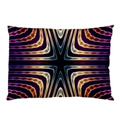 Colorful Seamless Vibrant Pattern Pillow Case (two Sides) by Simbadda