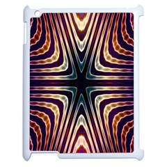 Colorful Seamless Vibrant Pattern Apple Ipad 2 Case (white) by Simbadda
