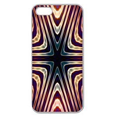 Colorful Seamless Vibrant Pattern Apple Seamless Iphone 5 Case (clear) by Simbadda