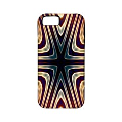 Colorful Seamless Vibrant Pattern Apple Iphone 5 Classic Hardshell Case (pc+silicone) by Simbadda