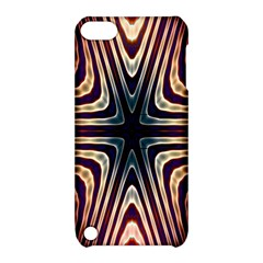 Colorful Seamless Vibrant Pattern Apple Ipod Touch 5 Hardshell Case With Stand by Simbadda