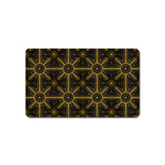 Seamless Symmetry Pattern Magnet (name Card)