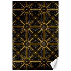 Seamless Symmetry Pattern Canvas 24  X 36  by Simbadda