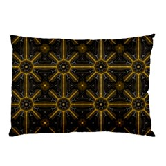 Seamless Symmetry Pattern Pillow Case (two Sides) by Simbadda