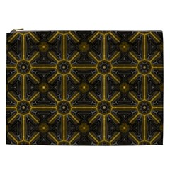 Seamless Symmetry Pattern Cosmetic Bag (xxl)  by Simbadda