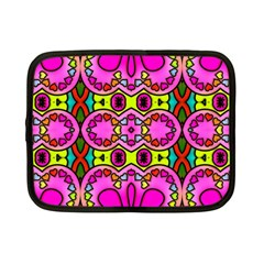 Love Hearths Colourful Abstract Background Design Netbook Case (small)  by Simbadda