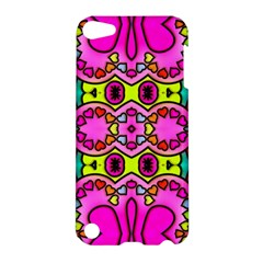 Love Hearths Colourful Abstract Background Design Apple Ipod Touch 5 Hardshell Case by Simbadda