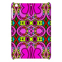 Love Hearths Colourful Abstract Background Design Apple Ipad Mini Hardshell Case by Simbadda