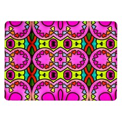 Love Hearths Colourful Abstract Background Design Samsung Galaxy Tab 10 1  P7500 Flip Case by Simbadda