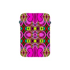 Love Hearths Colourful Abstract Background Design Apple Ipad Mini Protective Soft Cases by Simbadda